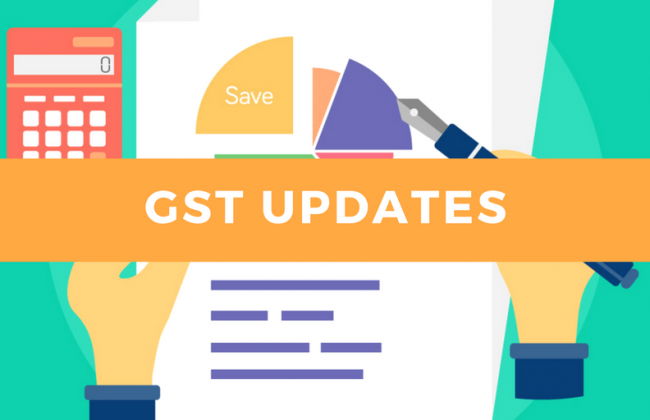 Key Highlights of GST Notifications applicable form 01-Oct-2019