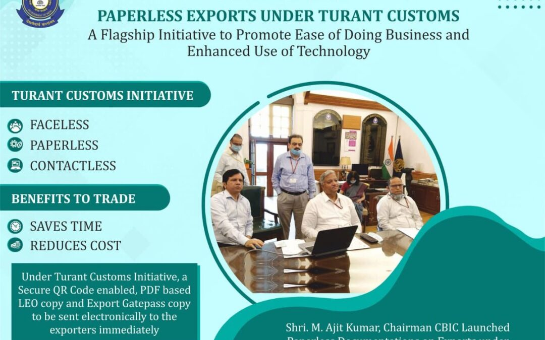 CBIC launches paperless customs export processing