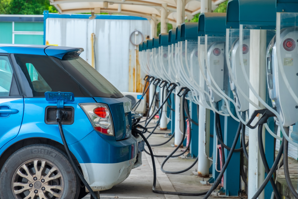 Electric Vehicle Charging Stations are fast growing market in India.